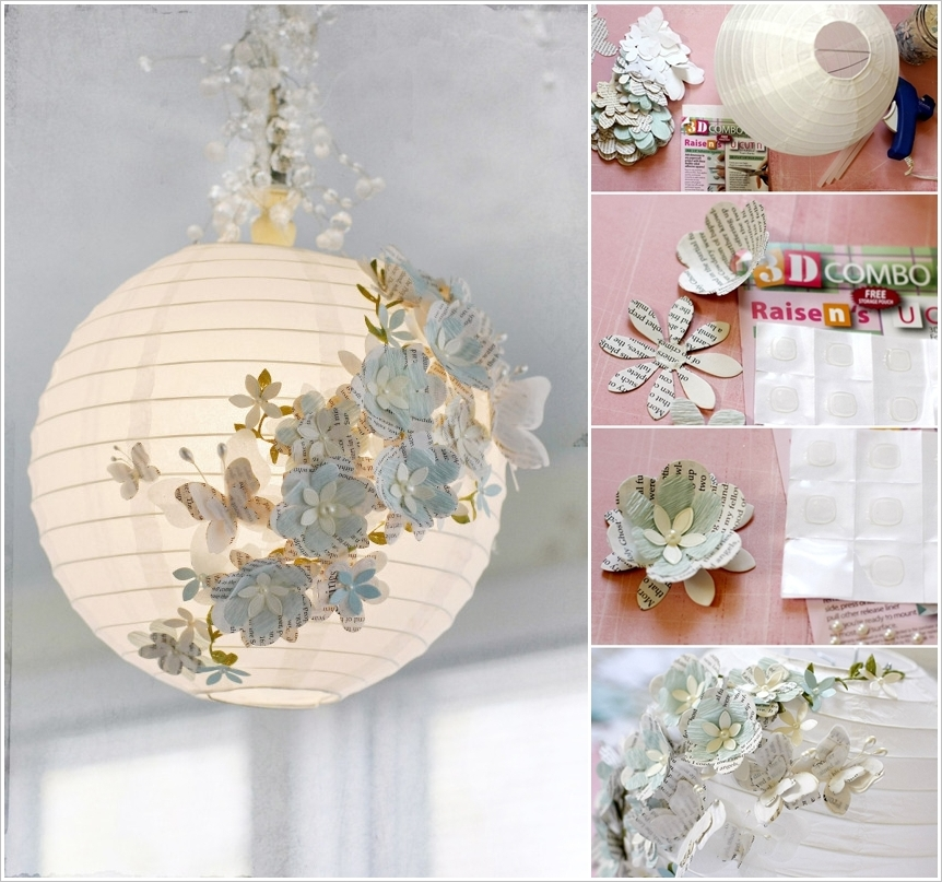 These Stunning Diy Paper Lanterns And Lamps