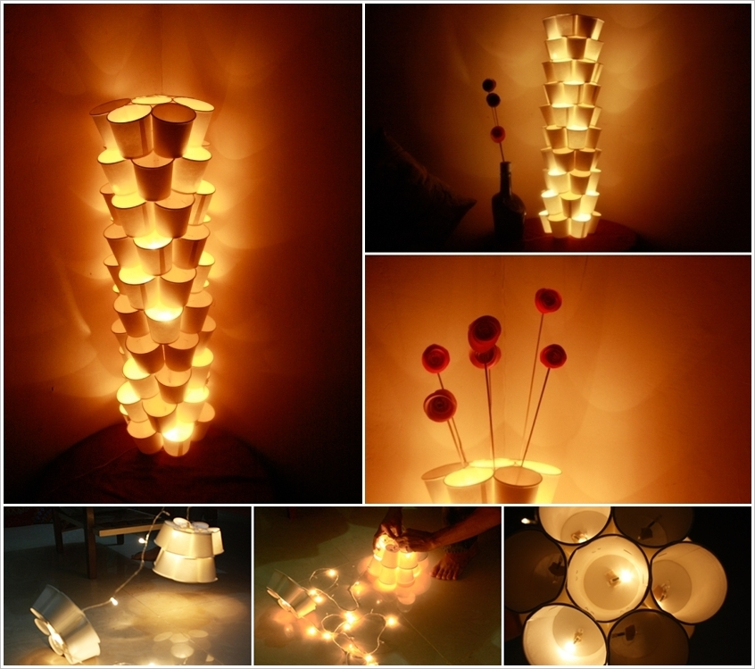 These 20 stunning diy paper lanterns and lamps for Simple diwali home decorations