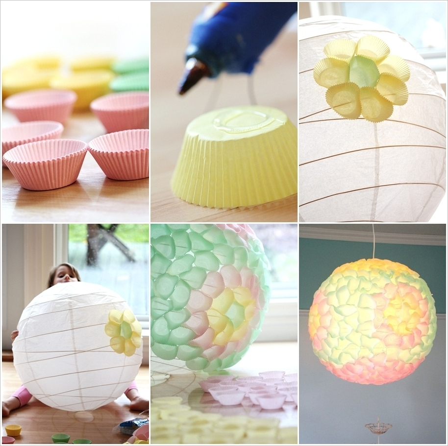 Paper String Decorations