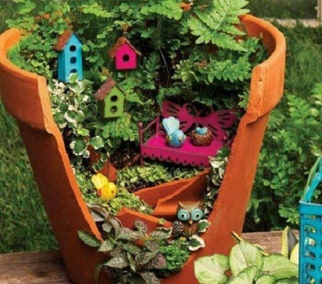 broken-pot-fairy-miniature -DIY-garden