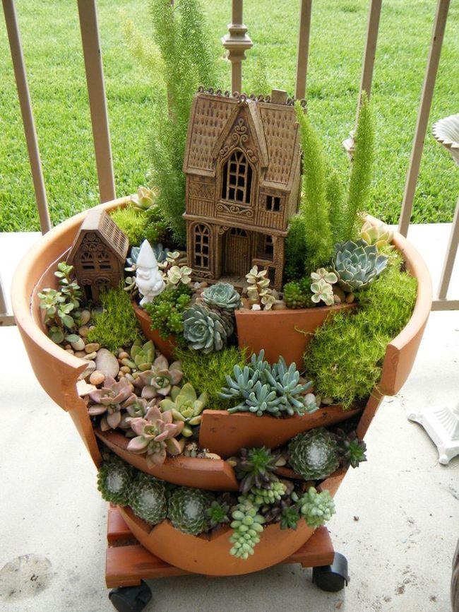 Top DIY 35 Magical Fairy Garden Ideas - Sad To Happy Project