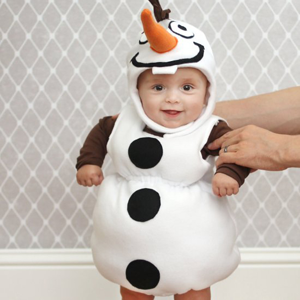 Olaf from Frozen. Kids Halloween costumes  sc 1 st  Sad To Happy Project & 10 Unique Halloween Costumes For Kids - Sad To Happy Project