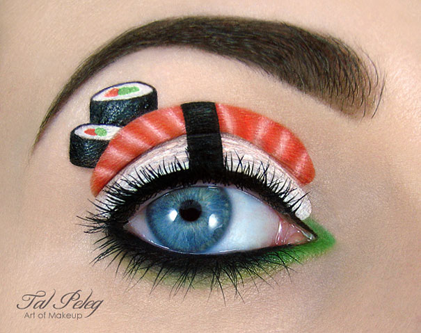 creative eye make up art tal peleg