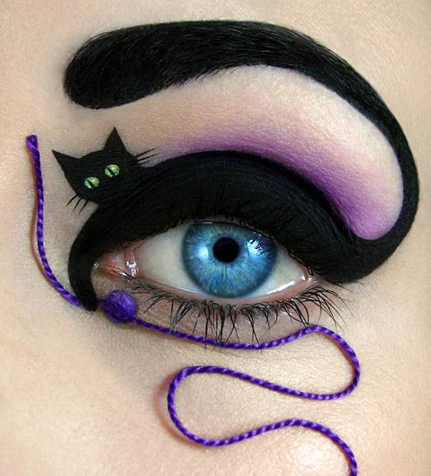 This Makeup Artist Creates Incredible Art On Somebody's EYE. Mind Blowing