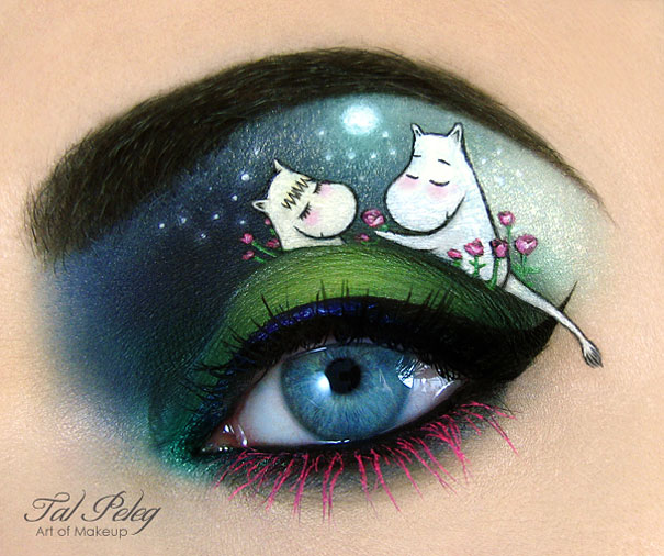 creative eye make up art tal peleg