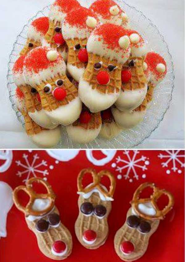 Cute christmas food gift ideas