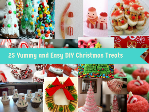 25 DIY Ideas For Christmas Treats To Make Your Festive Table Yummy