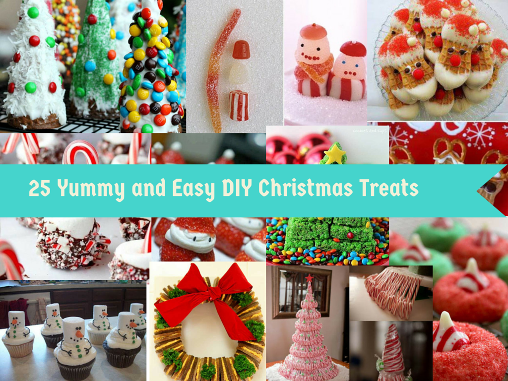 25 DIY Ideas For Christmas Treats To Make Your Festive Table Yummy ...