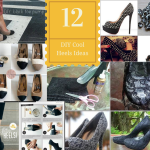 16 DIY Fun Ideas For Shoe Heels Makeover in Your Budget And It Looks Great