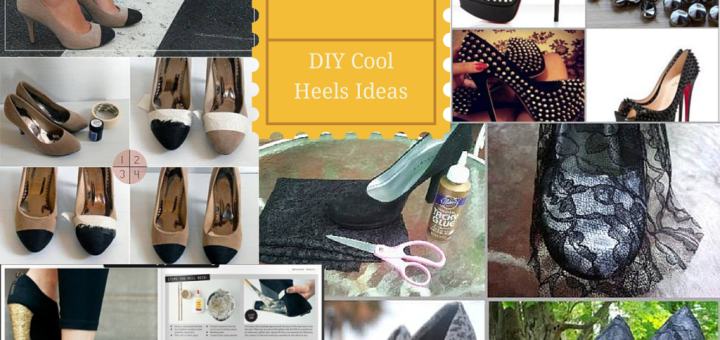 DIY FASHIONABLE Shoe HEELS IDEAS