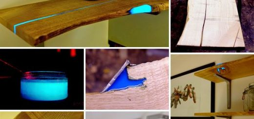 DIY Glowing shelves Home decor