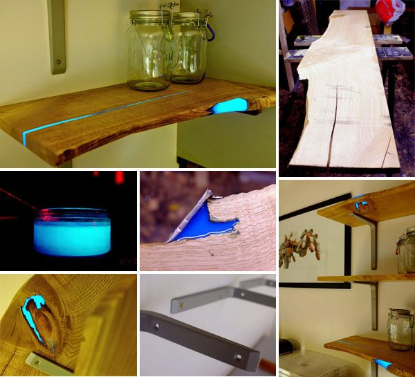 This DIY Glowing Shelves Are So Easy To Make That Anyone Can Do This.