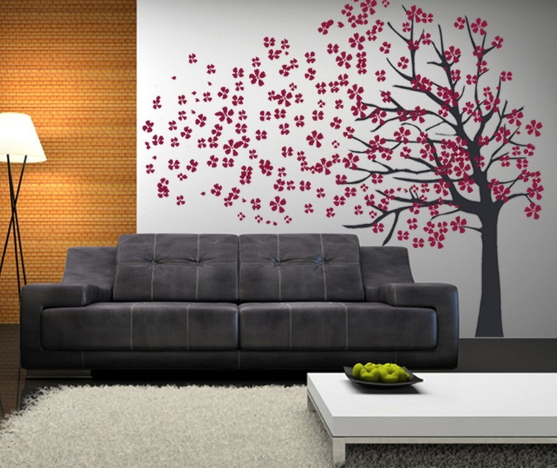 Wall Decals For Living Room DIY Paper Craft Projects Home Decor Ideas