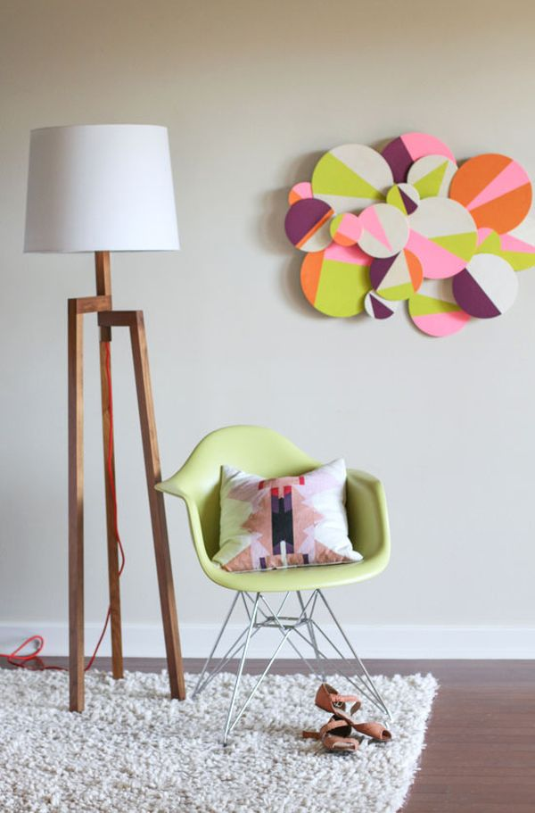 Diy paper craft projects home decor craft ideas3 for Art and craft for wall decoration