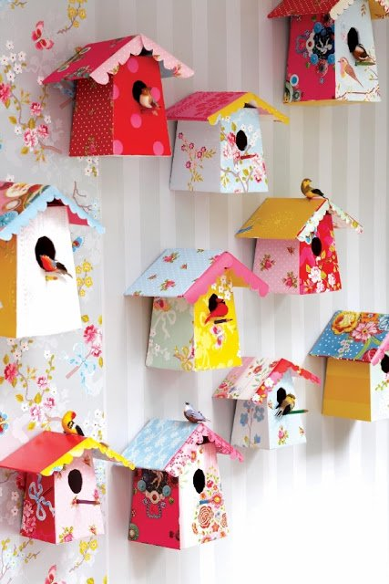 Merveilleux DIY Paper Craft Projects Home Decor Craft Ideas5
