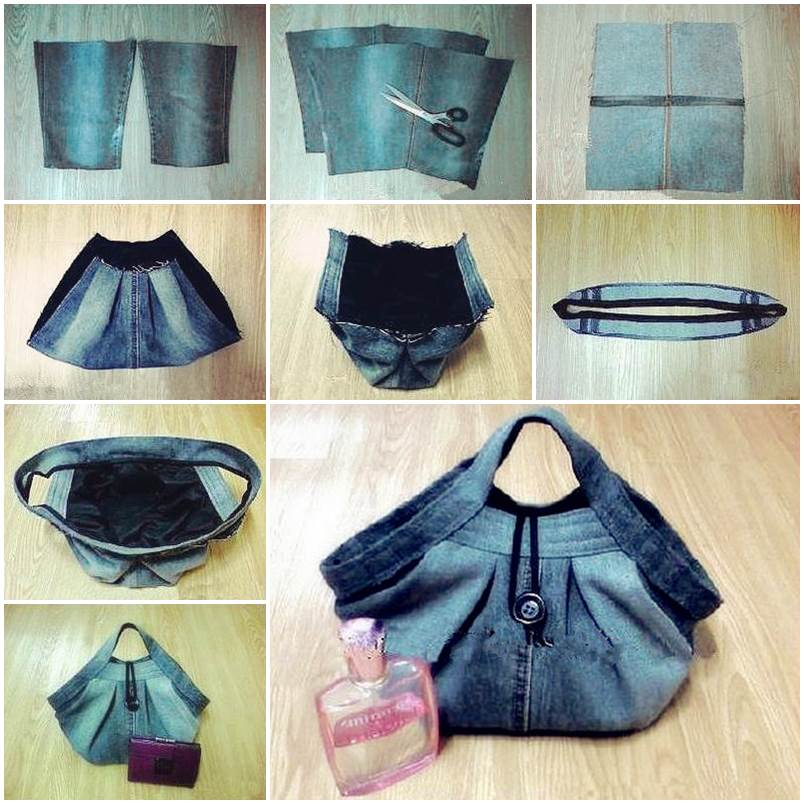 DIY-Stylish-Handbag-from-Old-Jeans