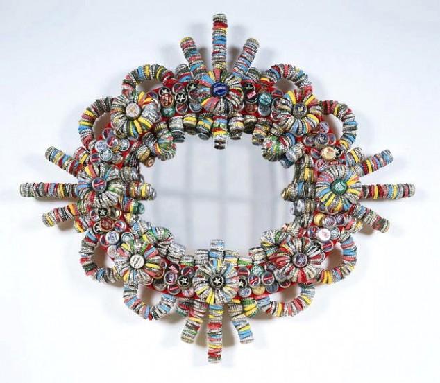 Diy bottle cap craft necklace art ideas for Diy bottle cap crafts