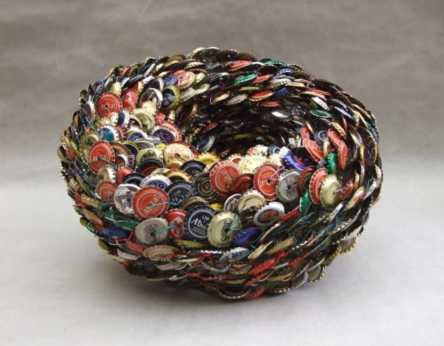 diy bottle cap craft necklace art ideas10