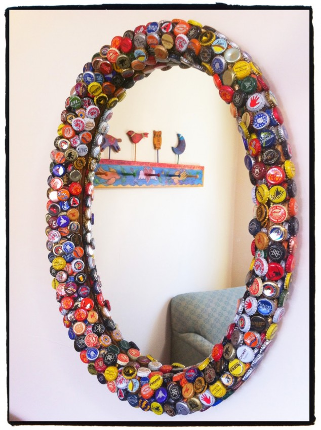 17 creative diy bottle cap art and craft ideas to reuse for How to use bottle caps