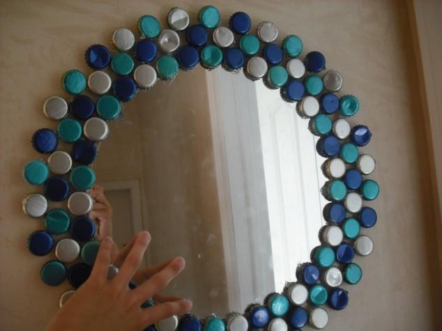 diy bottle cap craft necklace art ideas5