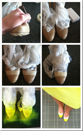 diy high heels makeover diy shoe makeover ideas9