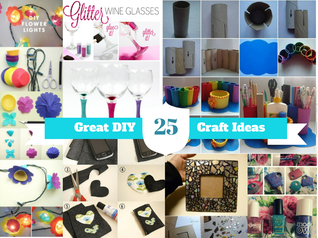 Here Are 25 Easy Handmade Home Craft Ideas: Part 1
