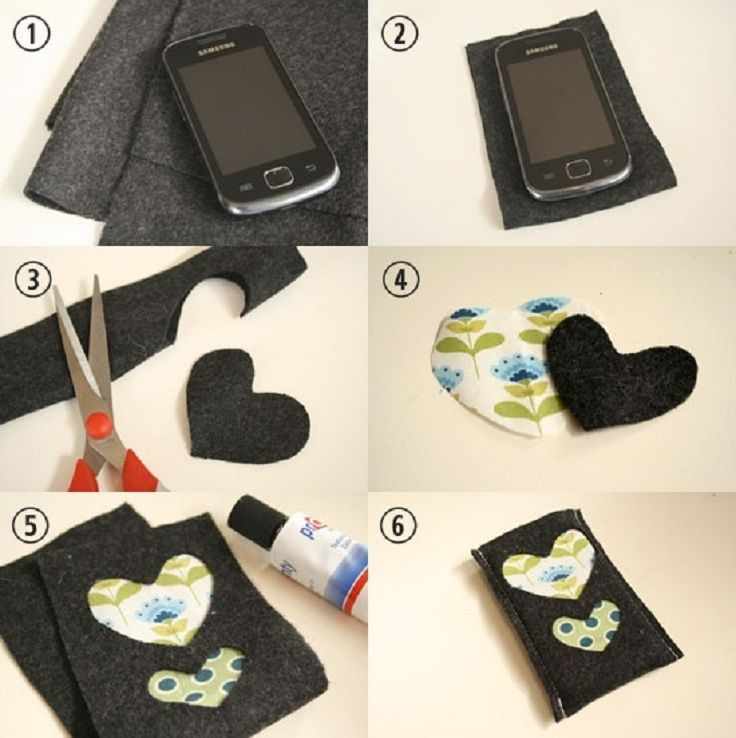 25 handmade easy home decoration ideas to try today for How to make phone cases at home