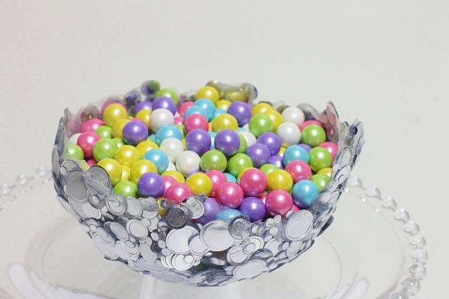 diy ideas balloon bowl DIY Yarn Bowls craf2