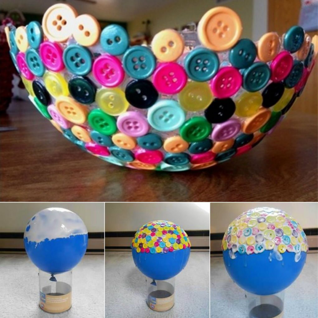 10 simple diy ideas to create unique bowls - Manualidades para decorar tu casa ...