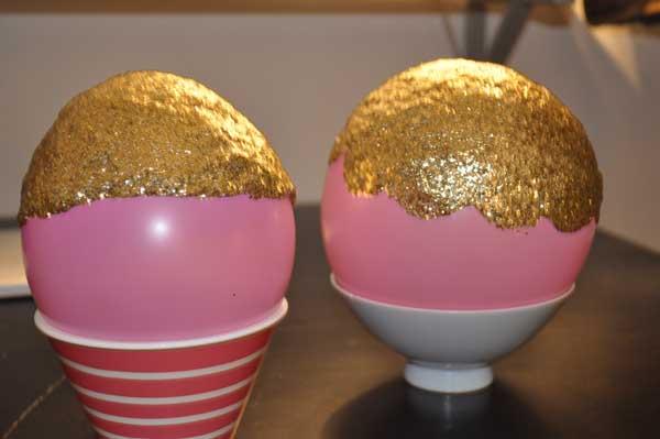 diy ideas balloon bowl DIY Yarn Bowls craft10