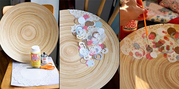 diy ideas balloon bowl DIY Yarn Bowls craft30