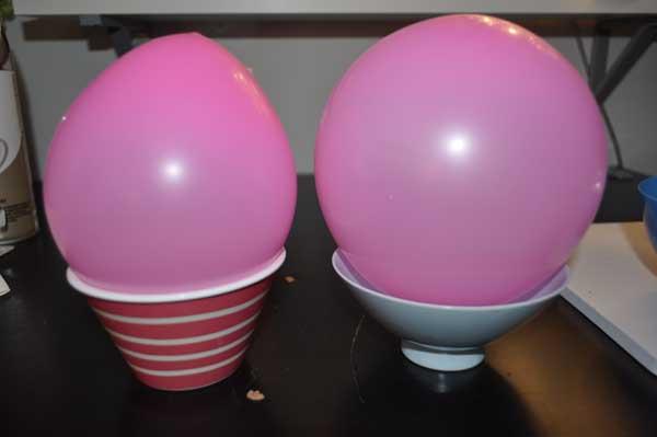 Diy Ideas Balloon Bowl DIY Yarn Bowls Craft6