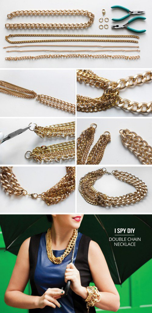 diy necklace jewelry tutorial craft ideas2