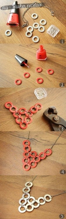 diy necklace jewelry tutorial craft ideas71