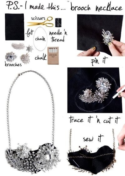 diy necklace jewelry tutorial craft ideas78