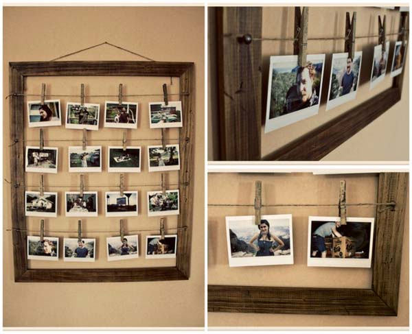 41 diy ideas to brilliantly reuse old picture frames into home decor