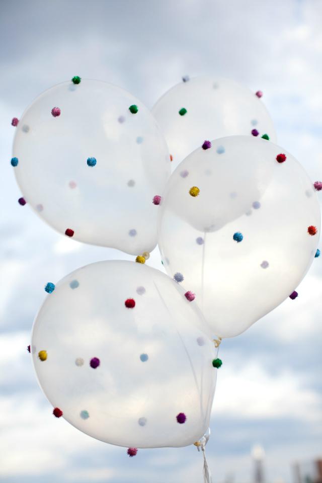 diy pom pom decorations diy pom pom ballon