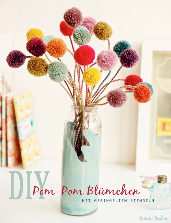 diy pom pom decorations diy pom pom flowers