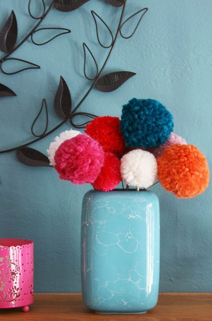 diy pom pom decorations diy pom pom home decor4