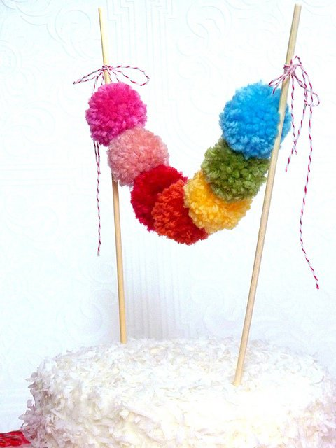 diy pom pom decorations diy pom pom home decor7