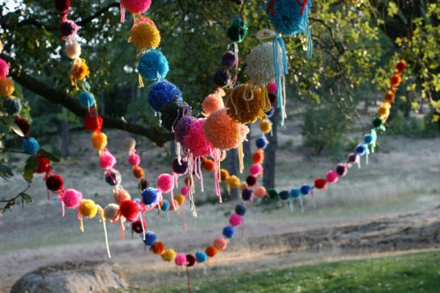 diy pom pom decorations diy pom pom ideas