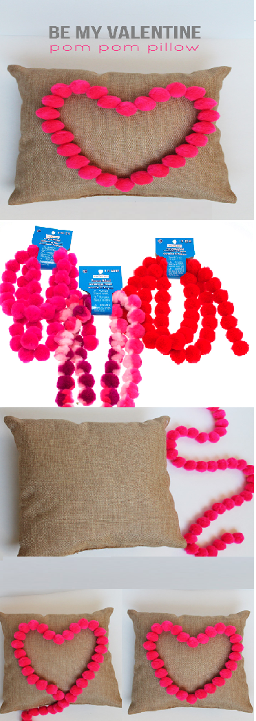 diy pom pom decorations diy pom pom pillow cover2
