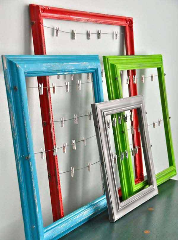 Diy Projects With Old Picture Frames
