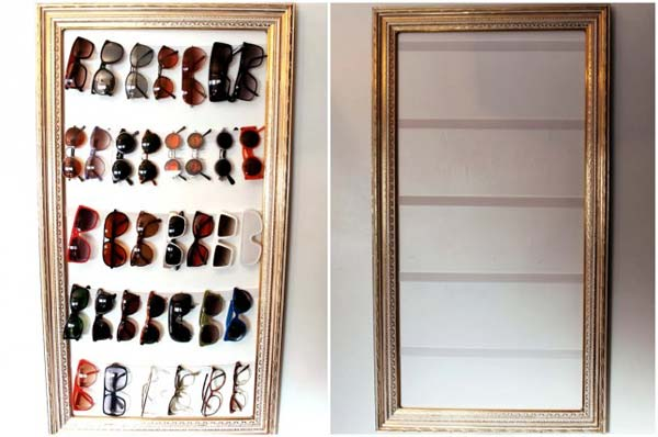 Diy Projects With Old Picture Frames1