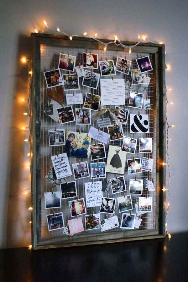 diy projects with old picture frames5