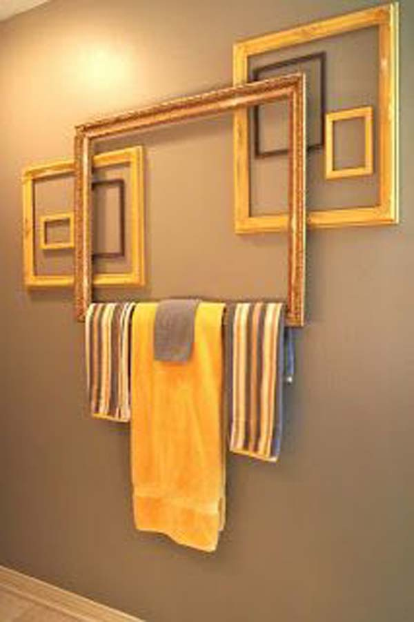 41 DIY Ideas To Brilliantly Reuse Old Picture Frames Into ...