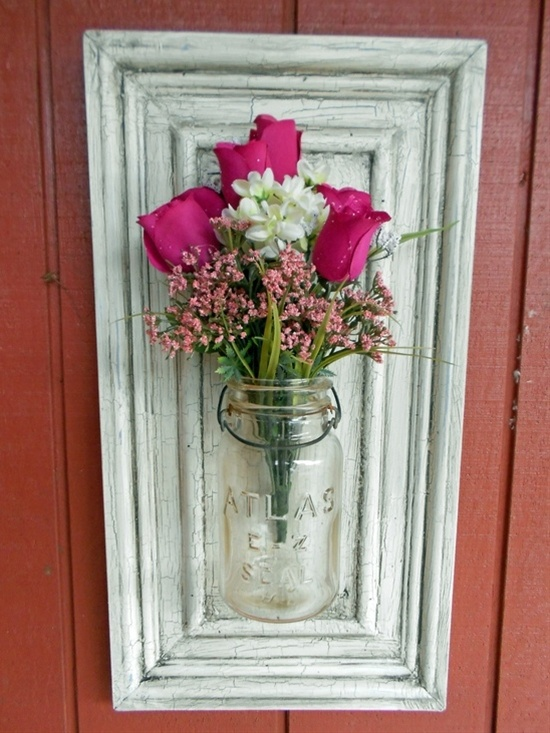 diy repurpose reuse old picture frame ideas18