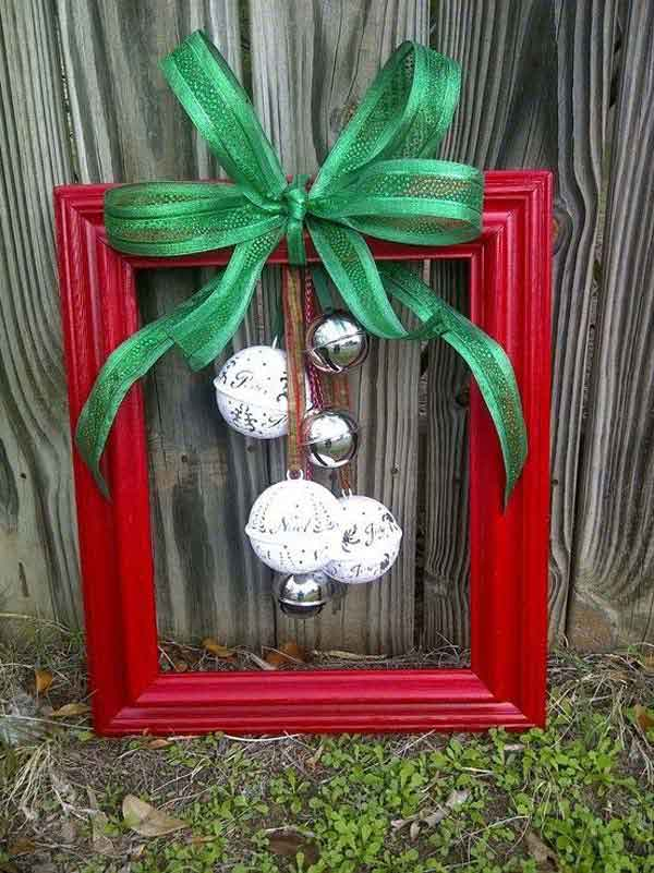 diy repurpose reuse old picture frame ideas9