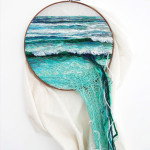 This Artist Creates Landscape Embroidery Art. Its So Unique.
