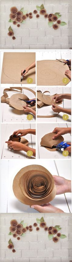 extraordinary-smart-diy-paper-wall-decor design